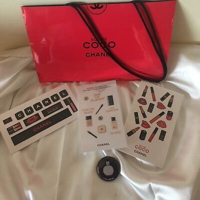 Chanel Le Rouge Badge Sticker Set Vip Gift New & Authentic