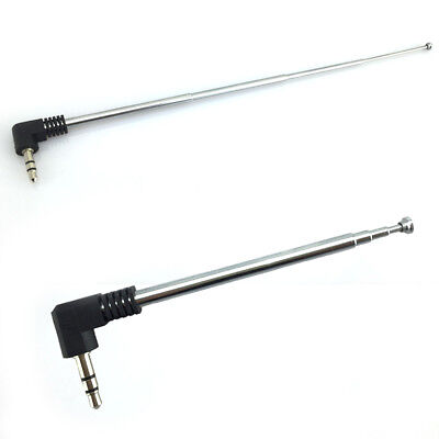 Car Interior 3.5mm Retractable FM Radio Extend Antenna 14g for Mobile Cell Phone