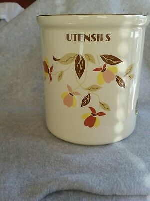 Hall Autumn Leaf Pattern Utensil Holder