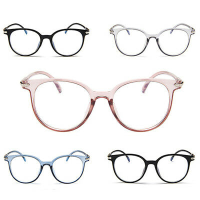 Women Spectacle Optical Frame Glasses Clear Lens Anti-Radiation Eyeglasses
