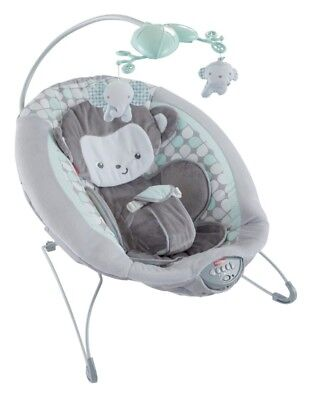 Fisher-Price Sweet Surroundings Monkey Deluxe Bouncer