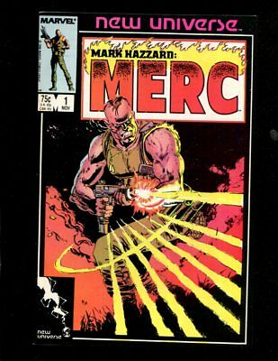 Mark Hazzard Merc  #1 New Universe Marvel Comics  Near Mint