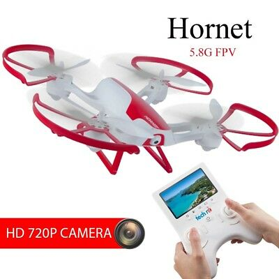 TechRC 5.8G RC FPV Drone Quadcopter with 2.0MP HD Camera Live Video 6-Axis Gyro