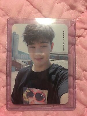 Monsta X Shownu Shine Selfie Ver Official Photocard Card Kpop K-pop Us Seller
