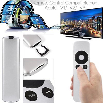 Replacement Universal Infrared Remote Control Compatible For Apple TV2/TV3 US
