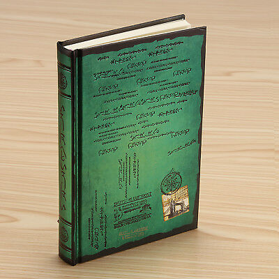 Classic Retro Green Notebook Journal Diary Sketchbook Thick Blank Pages