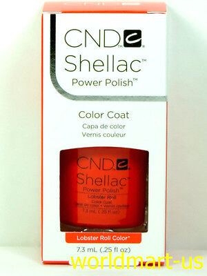 CND Shellac GelColor UV/LED: #09943_Lobster Roll 0.25fl.Oz