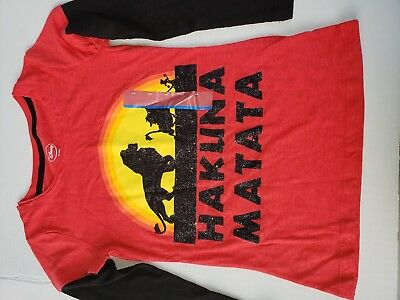 The Lion King Girls T Shirt size L