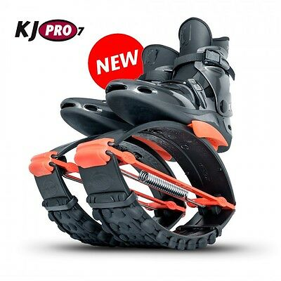 Org. Kangoo Jumps KJ PRO 7 ( 95 - 125 KG) Black/Orange Größe XL ( 44,5-47,5 )
