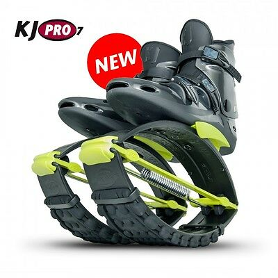 Org. Kangoo Jumps KJ PRO 7 (75 - 95 KG) Black/Yellow Größe S (36-38,5)