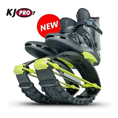 Org. Kangoo Jumps KJ PRO 7 ( 95 - 125 KG) Black/Yellow Größe L ( 42-44 )