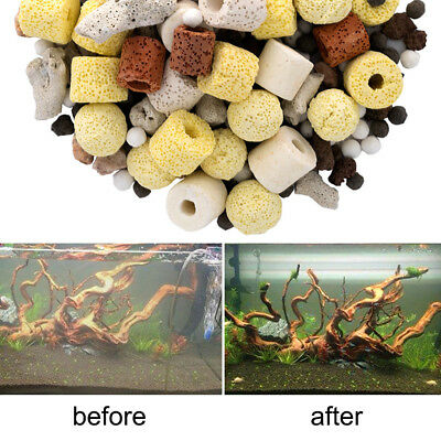 Aquarium Porous Ceramic Filter Media Biological Fish Tank Nitrifying Bacteriahot