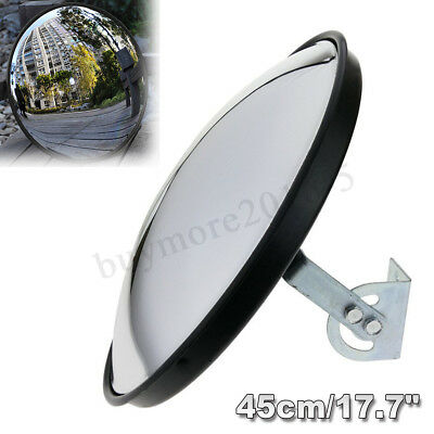 🇦🇺 45cm Wide Angle Security Curved Convex Road Traffic Mirror Driveway Safety