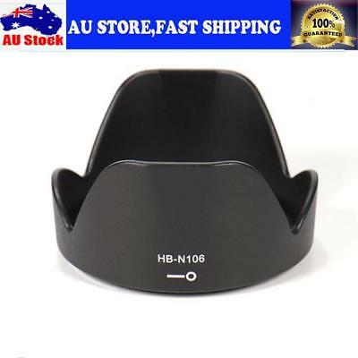 Camera Lens Hood Shade For Nikon D3400 D3300 AF-P DX 18-55mm F/3.5-5.6G Lens