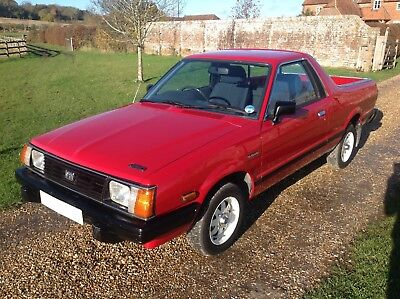 Subaru 1800 Mv BRAT - Classic 1988 pick up