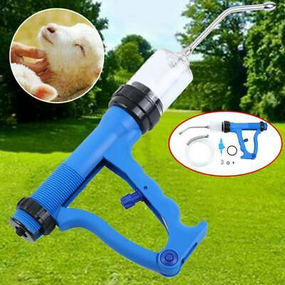 AU Continuous Drench Gun Injection for Sheep Goats Cattle Animal Oral Pour