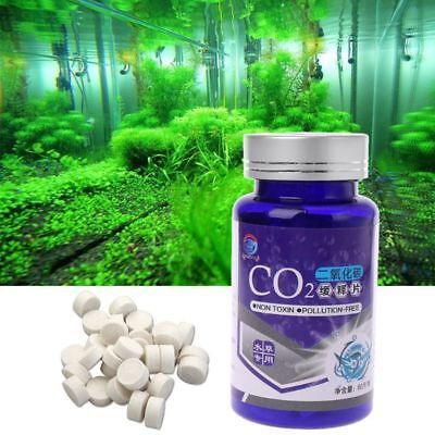 Aquarium CO2 Tablet Carbon Dioxide For Plant Water Grass Fish Tank Diffuser New
