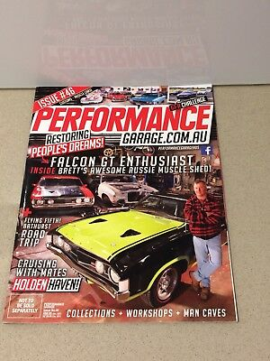 Performance Garage Restorations Magazine #46 Ford Falcons Holden Custom Cars