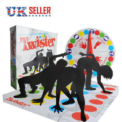 Funny Twister The Classic Family Kids Party Body Game With 2 More Moves With BOX