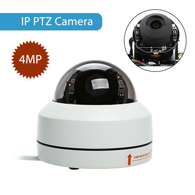 4MP IP Network PTZ Control Security Camera HD 1080P 3x Optical Zoom Night Vision