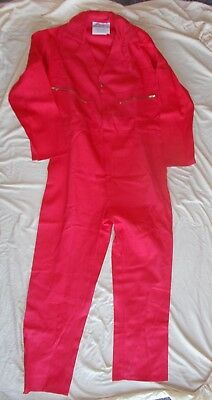 New Red Flame Retardant Overalls - size 44