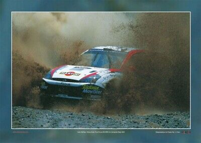 Ford Focus WRC02 - Poster