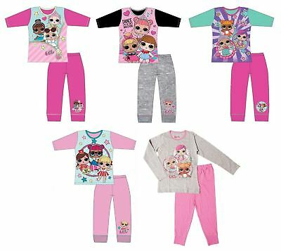 Girls LOL Surprise Dolls Pjs Pyjamas Pajamas Sleepwear Gift