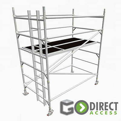 GDA500-DW Mobile Scaffold Tower 2m (4m Working Height)