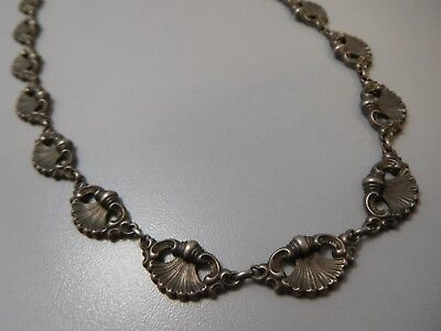 3533 || Unglaubliches Antik Barock Collier Necklace 835 Silber Super Optik !