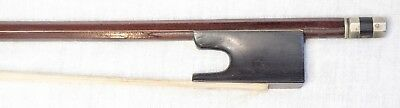 Vintage Violin Bow Vuillaume Trench Old Style Frog Antique (BIL 5)