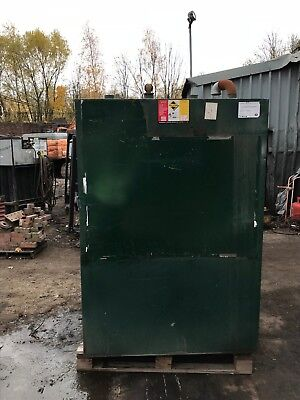 Used Enclosed Bunded Storage Tank.  Capacity 2780 Litres