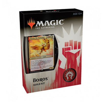 Magic The Gathering Guilds of Ravinca Guild Kit-Boros. Brand new, factory sealed