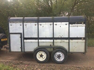 Ifor williams trailer livestock needs tlc. 12ft x 6ft