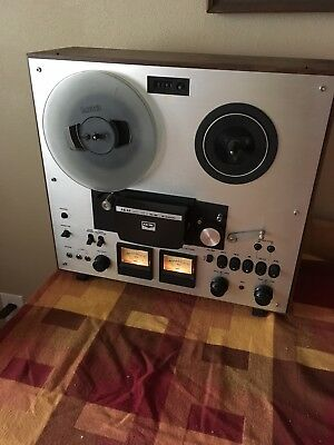 AKAI GX-230D Reel To Reel Tape Deck Auto Reverse Direct Drive Great Condition