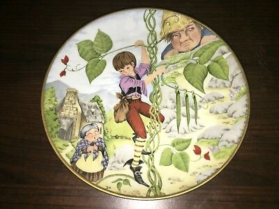 dorothea king plate jack and the beanstalk limited edition traditional fairy...