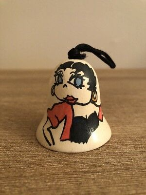 Betty Boop 1999 Hand Painted Bell