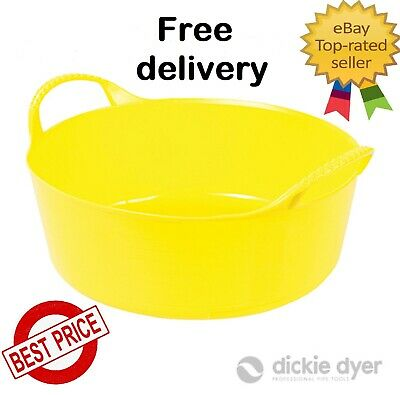 Genuine Gorilla Tub Very Tough Trug 5 Litre Flexible Garden Bucket Builder Feed