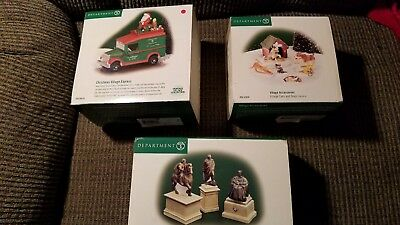 Lot Of 3 Department 56 Items