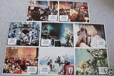 Sword Of The  Valiant~1983~11X14  Lobby Card Set 8~Original~Sean Connery~Mint