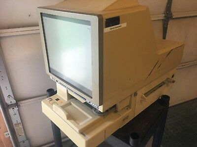 EyeCom RP9000 Microfilm Microfiche Reader Printer UNTESTED *ar