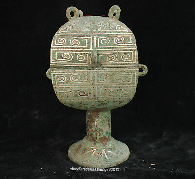 Certified 100% China Ancient silver Bronze Ware teapot Bowl Box Jars Statue