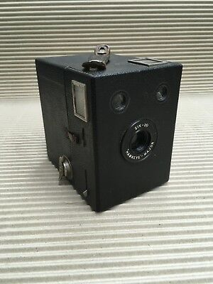 Vintage Box Camera - Kodak Hawkeye - Major Six - 20 Box Camera
