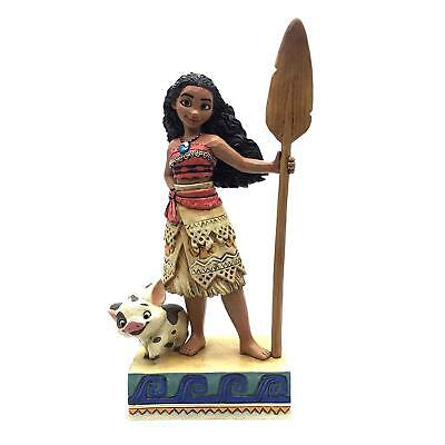 Disney Traditions Moana Find Your Own Way Moana Figurine - Official Enesco