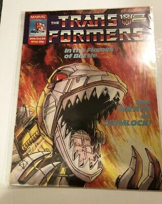 UK G1 TRANSFORMERS # 32 Comic – MARVEL – 1985 - JOB LOT - Collectable