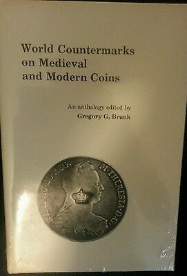 World countermarks on medieval & modern coins BRUNK new sealed shrinkwrapped