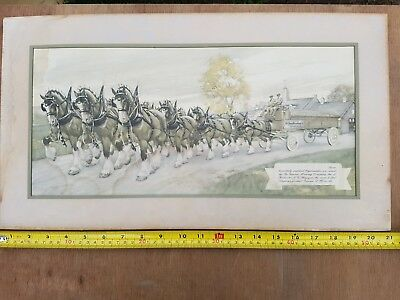 Genesee ale 12 horse poster