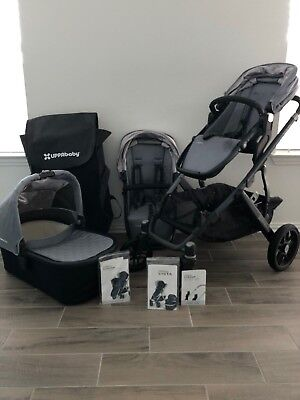 UPPAbaby Vista Child Stroller with Bassinet & RumbleSeat