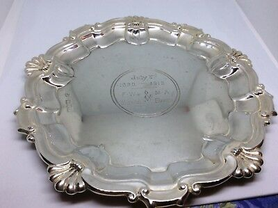 Solid Silver Chester Dish 1906,