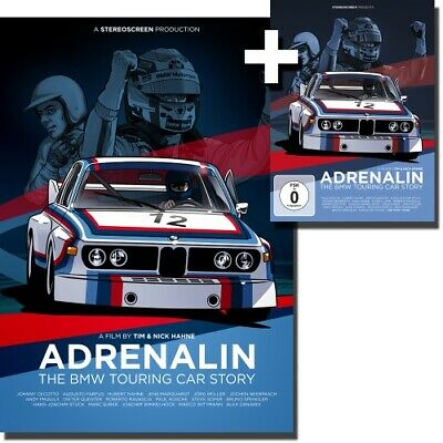 Adrenalin - Die BMW Tourenwagen Story Bundle DVD+Poster