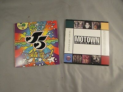 The Jackson 5 Soulsation! 25th Anniversary Collection & Motown Antholog Promo CD